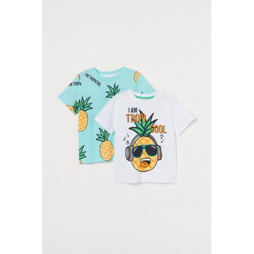 Футболка з короткими рукавами для хлопчиків H&M