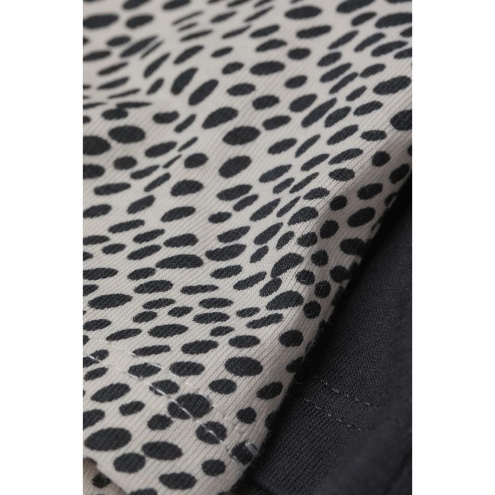 Топ з короткими рукавами з м'якого бавовняного трикотажу H&M