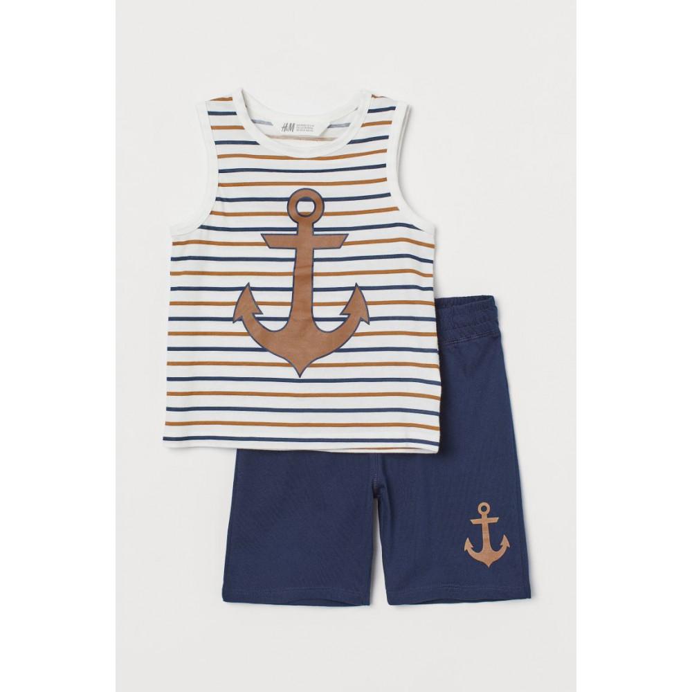 Комплект майка та шорти для хлопчиків H&M