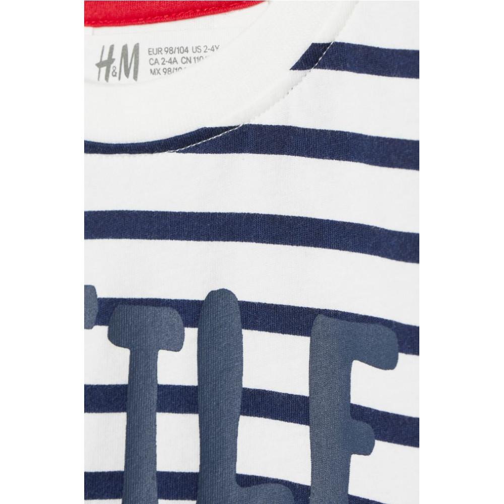 Футболка з принтом H&M