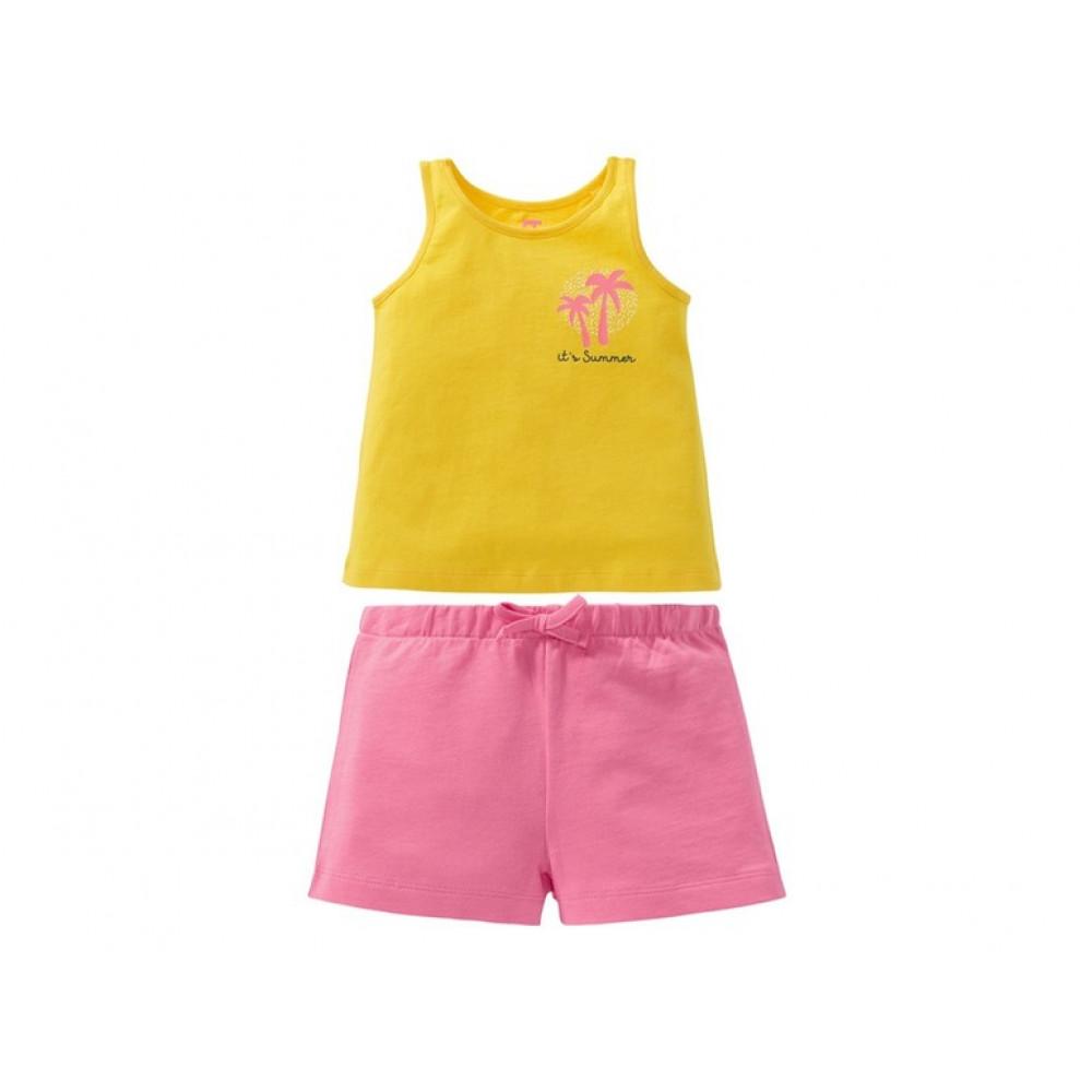 Комплект для дівчаток - футболка і шорти LUPILU