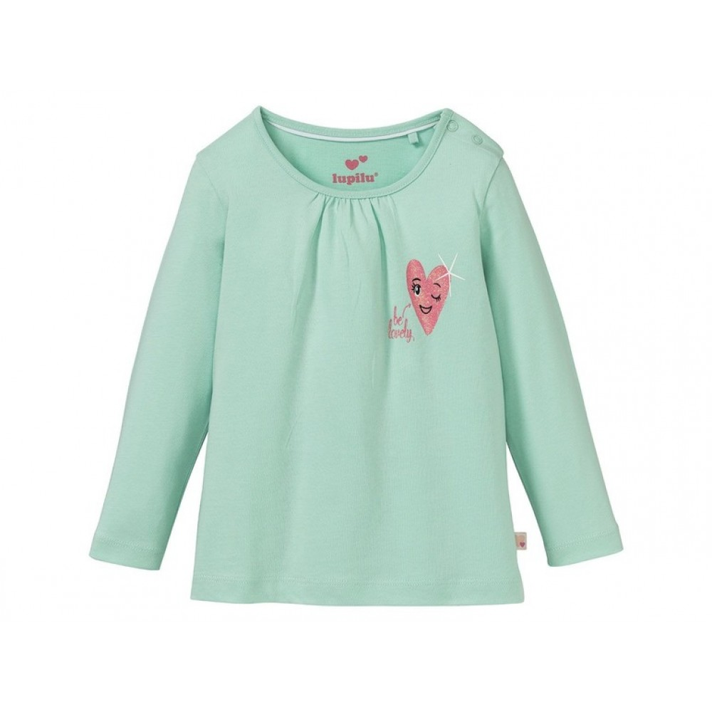 Блузка з довгим рукавом для дівчаток LUPILU