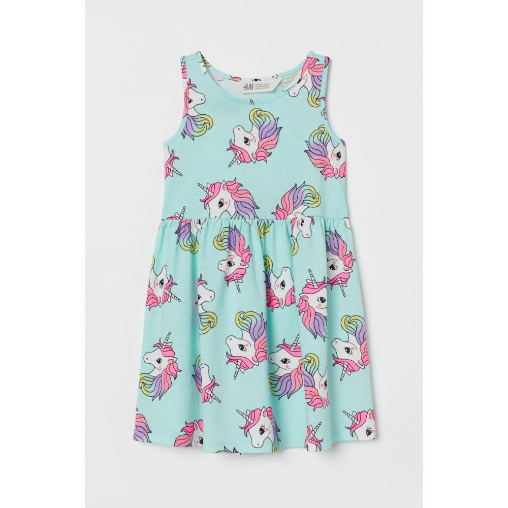 Сукня з джерсі з малюнком H&M